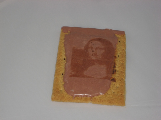 S'Mores flavored Mona Lisa